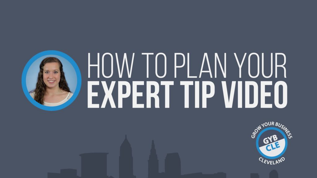 How To Plan your Expert Tip Video